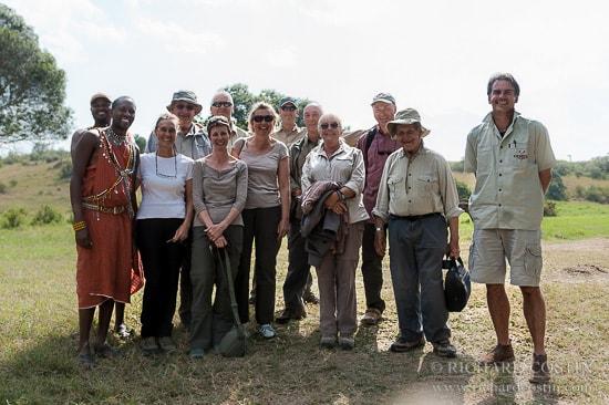 2012 Safari Photo Workshop group