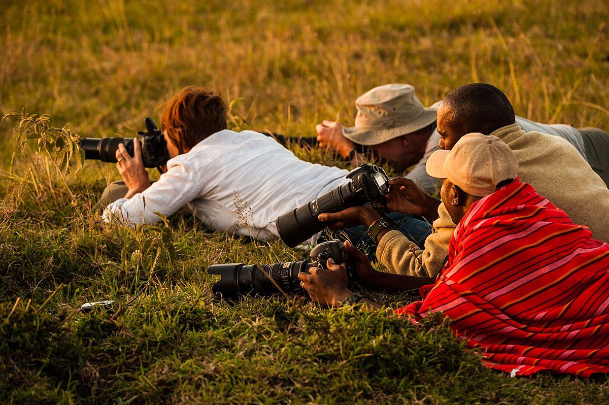wildlife photography worshop, kenya's masai mara, richard costin