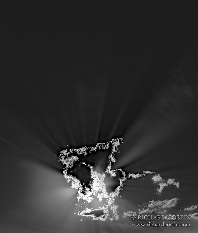 Cloud formation. Africa Live photo blog from the Masai Mara by wildlife photographer Richard Costin.